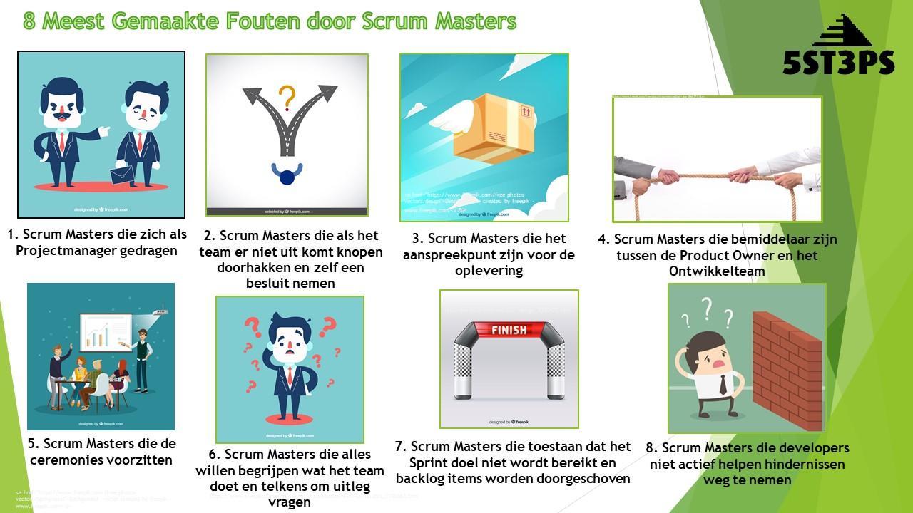 Scrum Master Fouten