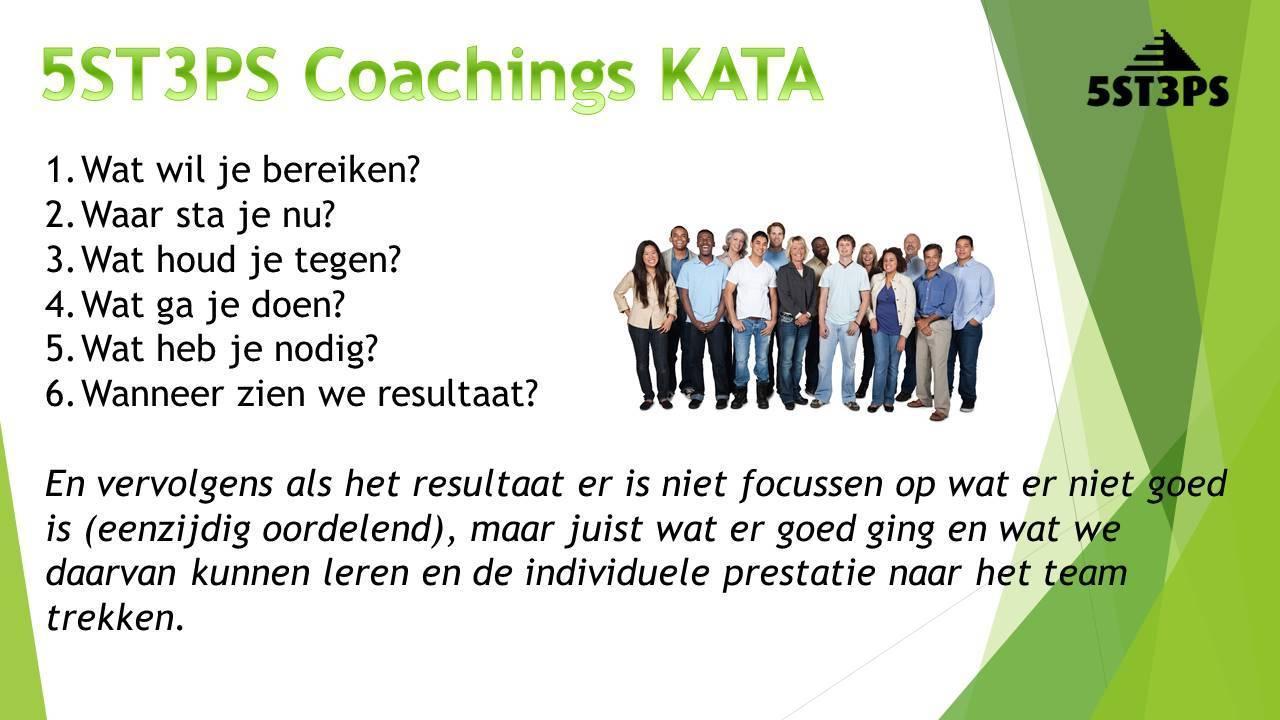 5ST3PS Coaching KATA