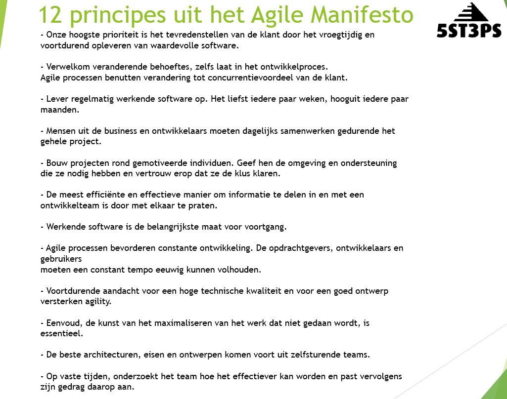Agile Mindset Agile Manifesto